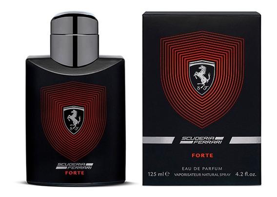 Perfume Scuderia Ferrari Forte Eau De Parfum 125ml + Amostra