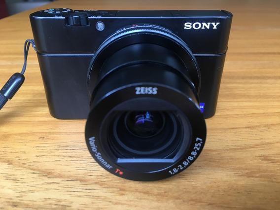 Sony Rx100 Mkiii Acompanha Bolsa E Cartao De 16gb