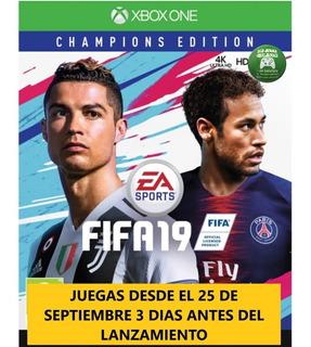 Fifa 19 Champions Edition Xbox One Djv Offline