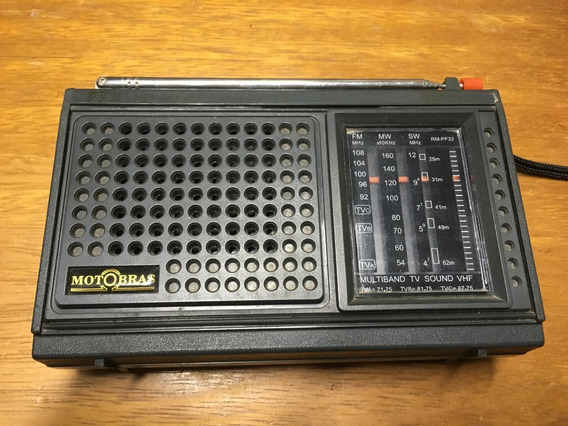 Rádio Motobrás Multband - Rm-pf32