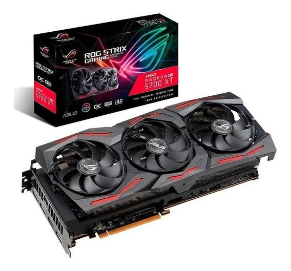 Placa De Video Rog Strix Rx 5700xt 8gb Gaming (3 Coolers)