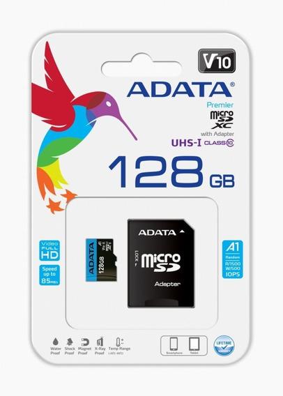 Memoria Micro Sd Adata 128gb Uhs-i Clase 10 A1