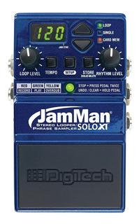 Digitech Jamman Solo Xt Looper Guitarra Pedal
