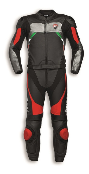 New Ducati Corse C3 Motorcycle Leather Racing Suit 1 Piece