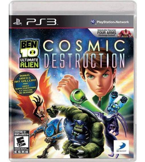 Ben 10 Cosmic Destruction (mídia Física) - Ps3