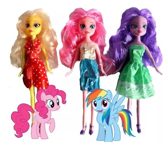 Muñeca My Little Pony Juguetes Equestria Ponys Niña Barbie