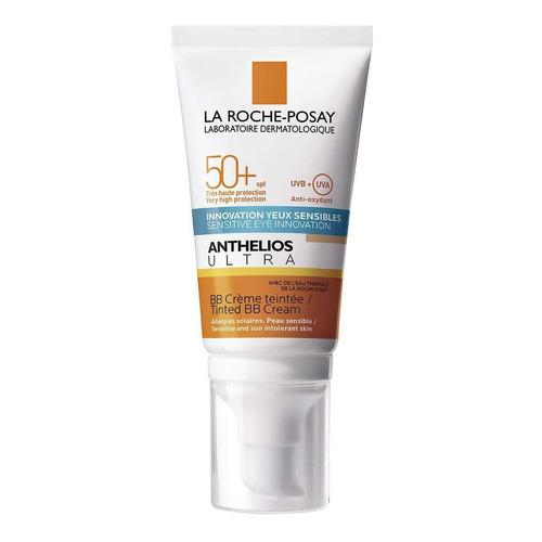 Imagen 1 de 1 de Protector solar La Roche-Posay Anthelios Ultra BB Cream para rostro en crema FPS50 x 50ml