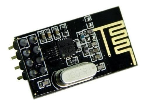 Módulo Nrf24l01 Rf Transceptor Ism 2.4ghz Pic Arduino