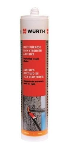 Adhesivo Multipropósito Alta Resistencia 310ml. Wurth