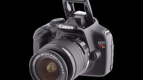 Canon Eos Rebel T3 + Canhão 18-55mm +canhão 75-300mm +bolsa
