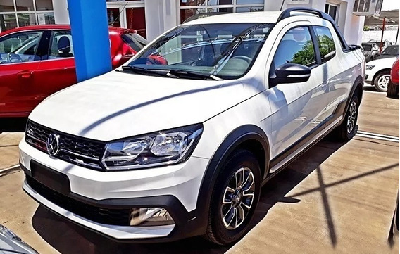 Vw 0km Volkswagen Saveiro Cross 1.6 16v 2018 Cabina Doble A