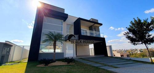 Casa Com 4 Dormitórios À Venda, 380 M² Por R$ 2.300.000 - Alphaville Nova Esplanada Iv - Votorantim/sp - Ca0812
