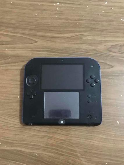 Nintendo 2ds Desbloqueado Sem Bateria