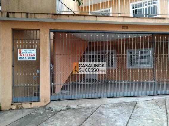 Sobrado Com 3 Dormitórios Para Alugar, 70 M² Por R$ 1.600,00/mês - Vila Matilde - São Paulo/sp - So0793
