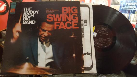 The Buddy Rich Big Band Big Swing Face Lp Disco Vinilo Ex+