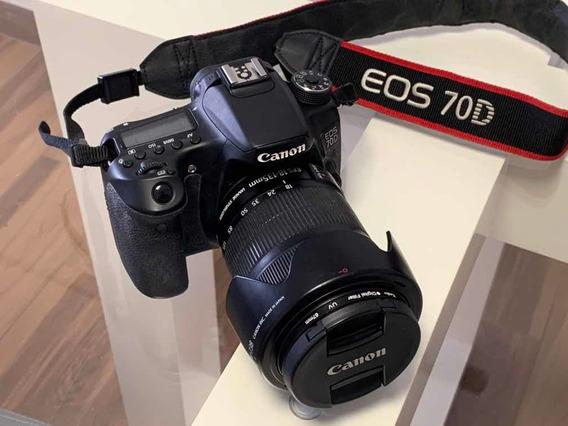 Kit Eos Canon 70d + Flash 600ex-rt + Lentes + Acessórios