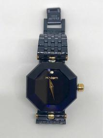 Relógio H Stern Safira On Stainless Ppim 510 Am