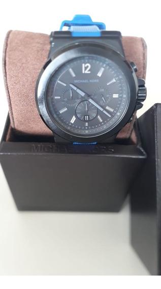 Original Relógio Michael Kross Mk 8357 Azul