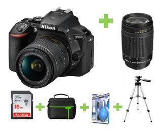 Camara Nikon D5600 16gb+bolso+70-300+tripode+kit Limpieza