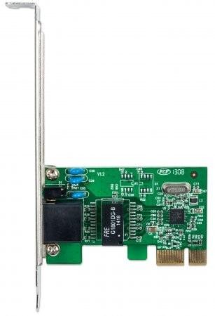 Imagen 1 de 2 de Tarjeta De Red Gigabit Ethernet Pci Express  Wol  Intellinet