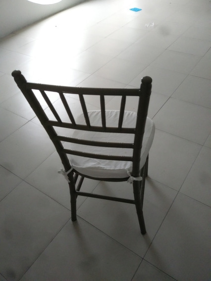Cadeiras Tiffany Para Festa De Alumínio Na Cor Marrom