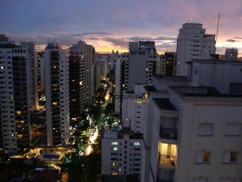 Cobertura Com 5 Dormitórios À Venda, 540 M² Por R$ 4.500.000 Estuda Uma Permuta - Moema - São Paulo/sp - Co0164