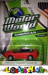 Greenlight Pontiac Firebird Trans Am Motor World Lacrado1:64