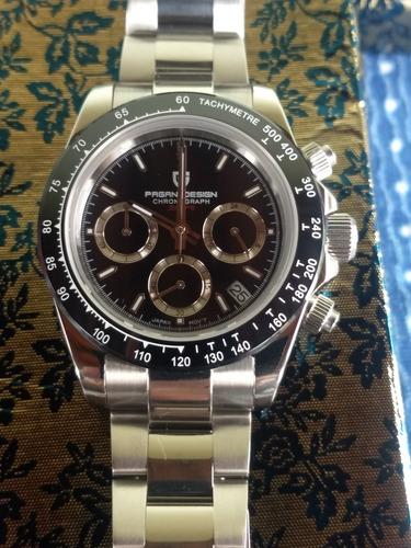Relógio Pagani Design Daytona.
