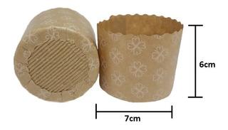 Forma Italiana Panetone 100g 100% Biodegradável Fiori 400un