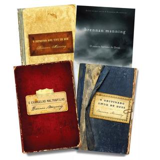 Combo Livros - Evangelho Maltrapilho E Mais Brennan Manning
