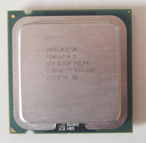Processador Pentium D 820 2.8 Ghz Soquete 775