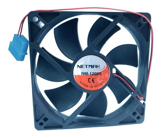 Turbina Fan Cooler 12v 12x12cm Netmak/noga Pc Molex