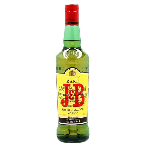 Imagen 1 de 1 de Botella De Whisky Blended Scotch J&b Escocia Botella 750ml