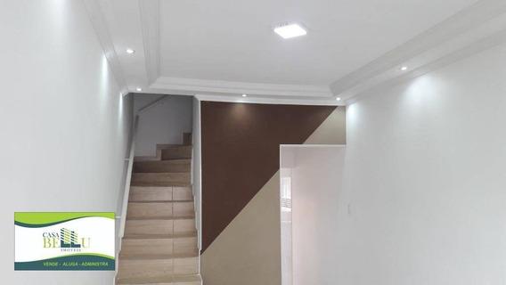 Casa Com 2 Dormitórios À Venda, 68 M² Por R$ 250.000,00 - Jardim Progresso - Franco Da Rocha/sp - Ca0438