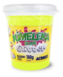 Slime Kimeleka Super Estirable Glitter Importadas 5822 Delmy