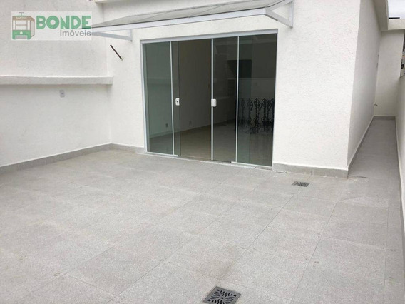 Cobertura Com 2 Dormitórios À Venda, 154 M² Por R$ 660.000 - José Menino - Santos/sp - Co0001