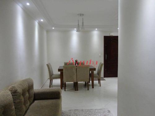 Cobertura Com 3 Dormitórios À Venda, 80 M² Por R$ 530.000 - Vila Marina - Santo André/sp - Co0626