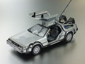 Carro Coleccionable Delorean A Escala 1:24 - Importado