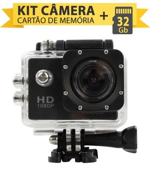 Kit Câmera Digital A Prova D