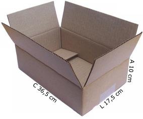 Caixa Papelão Correio Sedex Pac 26x17x9 Maleta Com 50 Unid