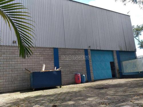 Galpão À Venda, 1400 M² Por R$ 2.200.000,00 - Jardim Tomé - Embu Das Artes/sp - Ga0800