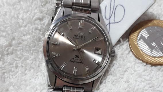 Relógio Royce, Masculino, Automático - Coleção !