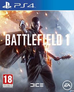 Battlefield 1 Revolution Ps4 Sellado Original