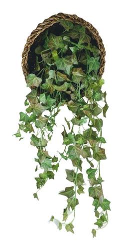 Corrente De Flores Artificiais Pendente De Folhagem De Hera