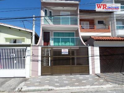 Sobrado À Venda Por R$ 850.000 - Santa Maria - Santo André/sp - So0675