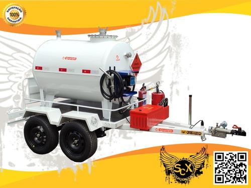 Reboque Tipo Carretinha Tanque Para Transporte Diesel! Homol