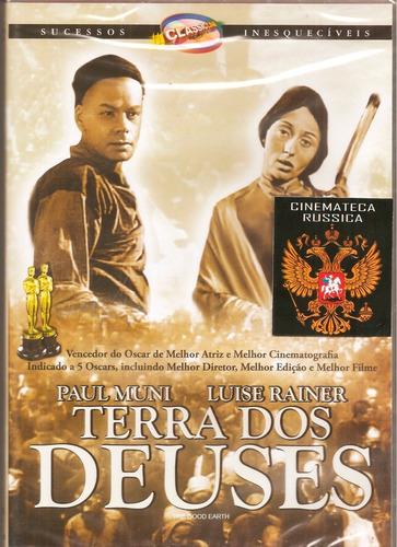Dvd Terra Dos Deuses, Paul Muni, Luise Rainer Sobre A China+