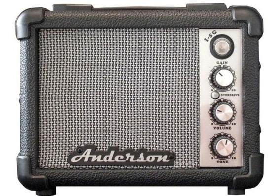 Mini Amplificador Guitarra 5w Anderson / Crimson Batería 9v