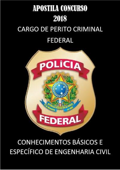 Apostila Concurso Policia Federal - Perito Engenharia Civil
