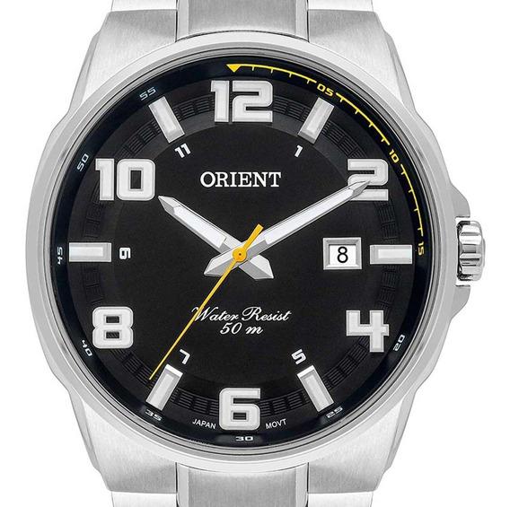 Relógio Orient Masculino Prata Mbss1366 P2sx + Nota Fiscal